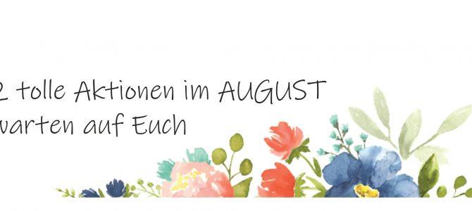 Neue Aktionen im AUGUST – Farbenspiel & Bonustage