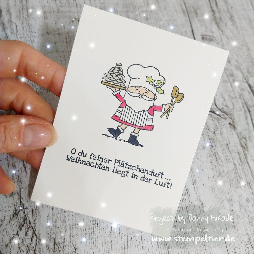 Stampin Up Weihnachtsmann Santa Plätzchen neu