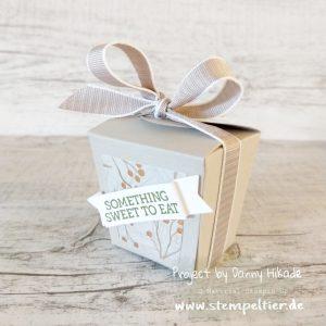 stampin up verpackung takeout treats zum mitnehmen treatbox Winterblüten