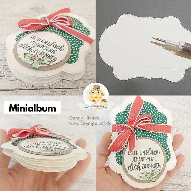 stampin up minialbum weihnachten farbenspiel der jahreszeiten aquarell colorieren stitched seasons