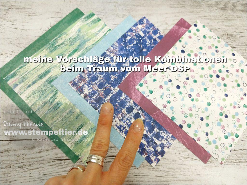 Stampin Up Kaufbeuren DSP Traum vom Meer designerpapier Idee maritim