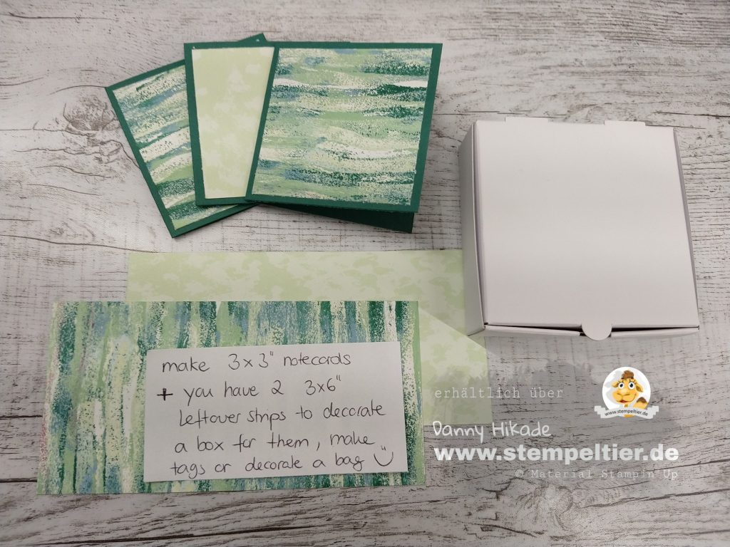 Stampin Up DSP Traum vom Meer Krake tranquil textures tide DSP Anleitung