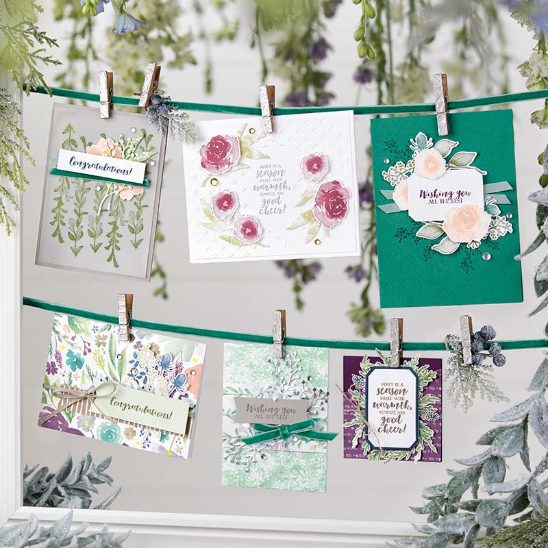 stampin up first frost eisblüten winterblüten 149943