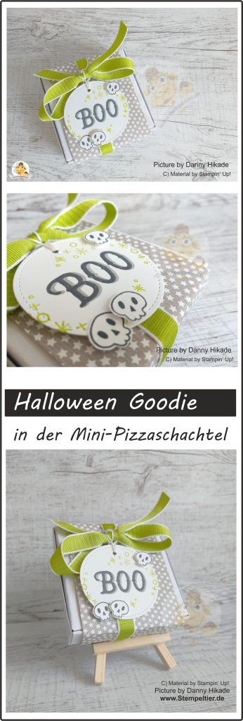 stampin up mini pizzaschachtel verpackung halloween goodie sternchen Warm hearted stempeltier boo box