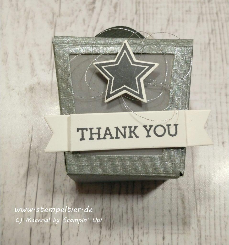 stampin up takeout treats box verpackung zum mitnehmen danke thanks stempeltier