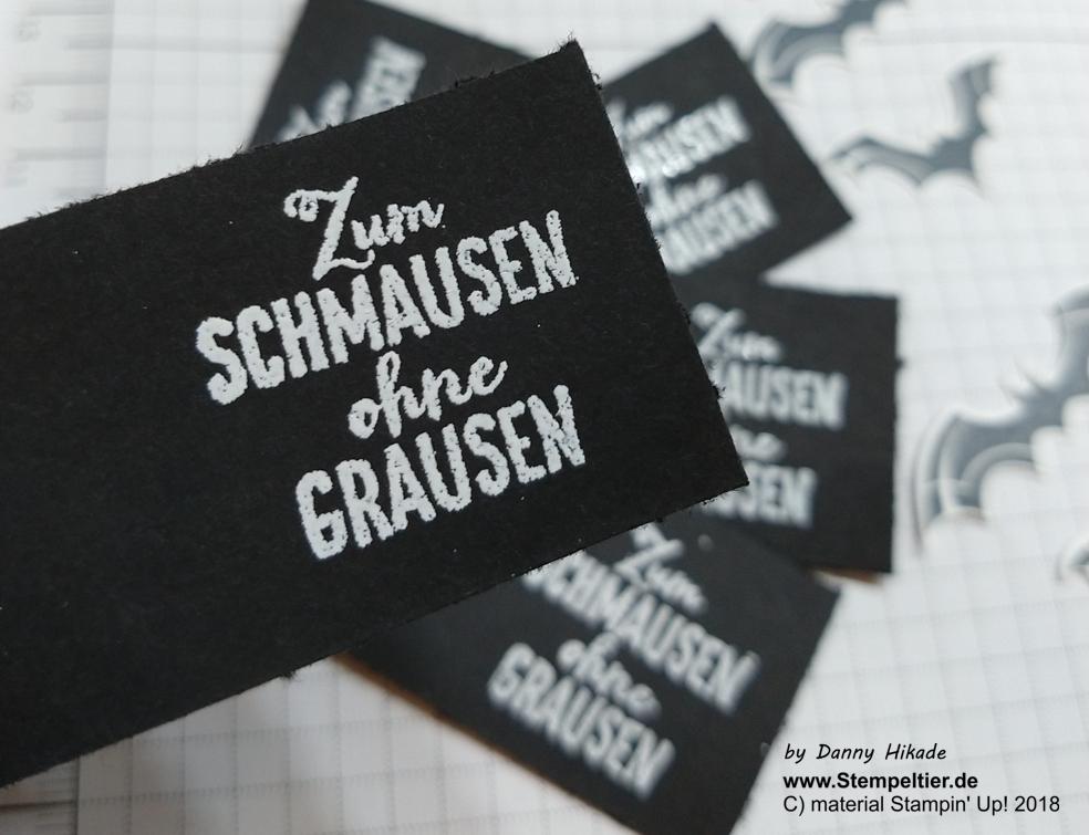 stampin up unheimlich lecker halloween verpackung gummibärchen fledermaus batpunch schmausen goodie