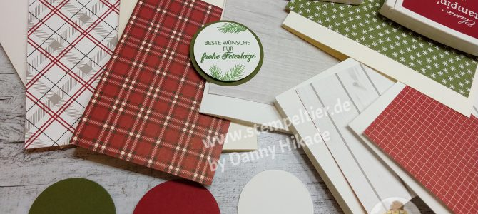 Design it with DSP – November Hüttenzauber Designerpapier