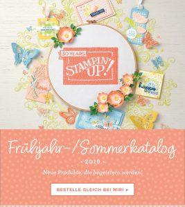 stampin up frühjar sommer 2019 katalog sab Saleabration bestellen kostenlos