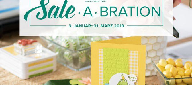 Morgen startet die Sale-a-Bration 2019