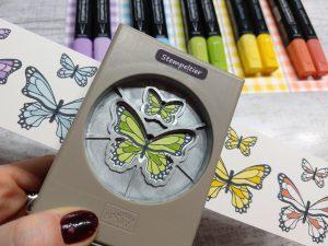 stampin up butterflies schmetterling 2019 handstanze stempeltier