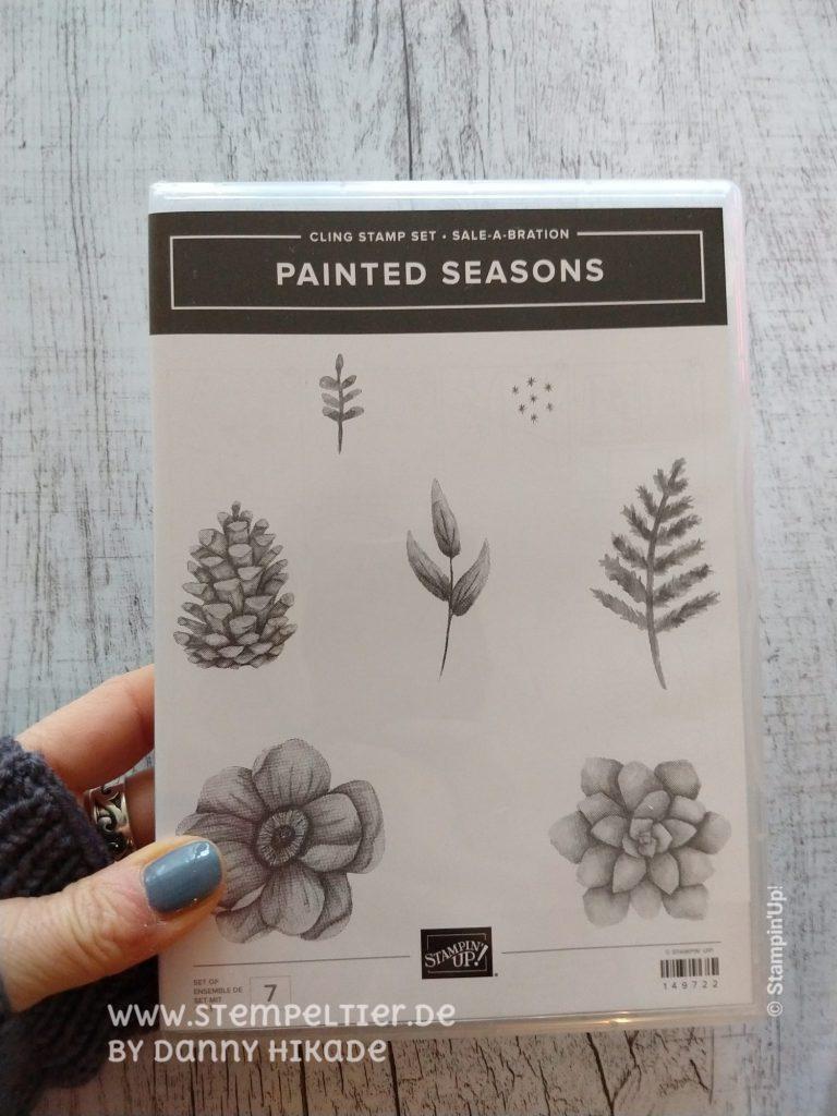 Stampin Up painted seasons vier jahreszeiten SAB coordination 2019