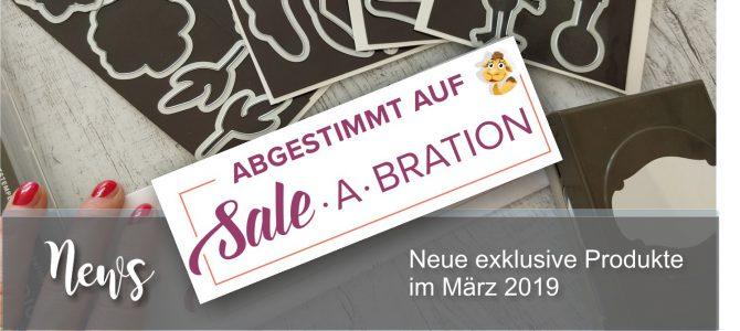 Abgestimmt auf die Sale-a-Bration