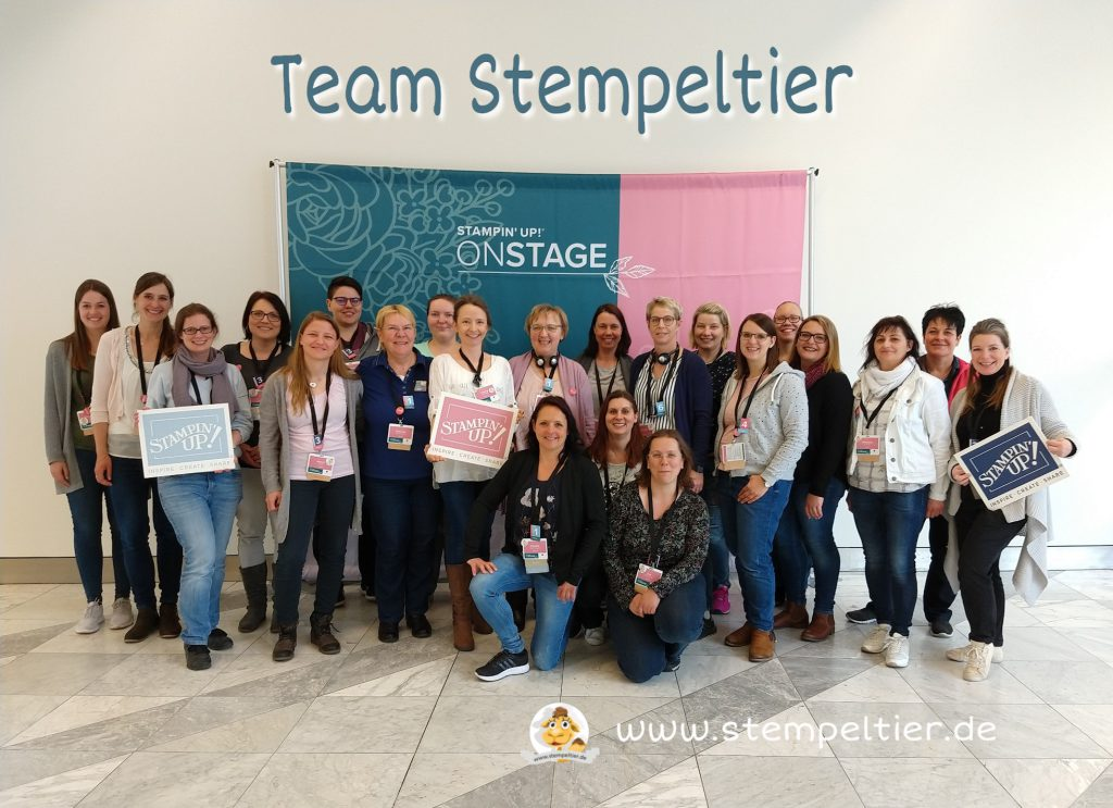 Stampin Up onstage Team Stempeltier