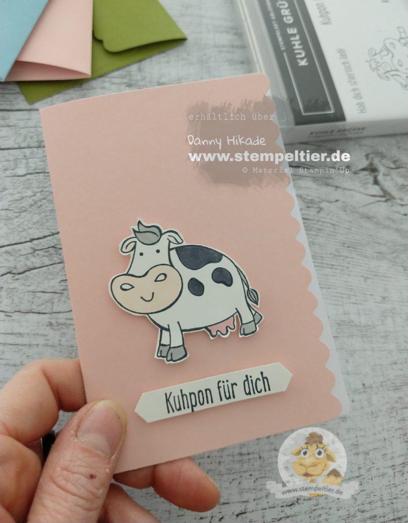 stampin up kuhle grüße kühe kuh cow neu stempeltier over the moon