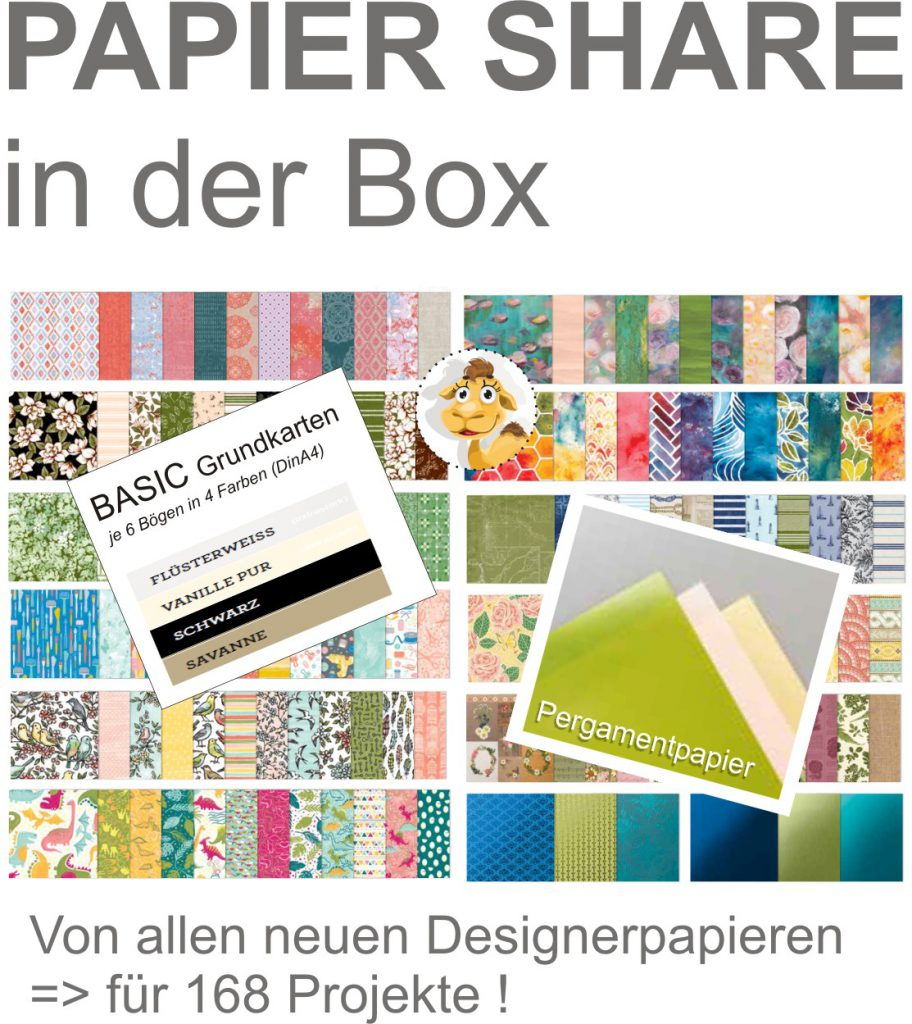 papiershare stampin up papershare jahreskatalog 2019 2020 in der box stempeltier