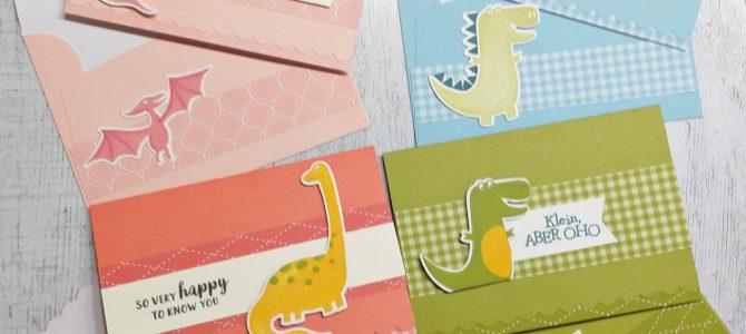 Pretty cards and paper bloghop July – Karten & Umschläge mit Wellenkante