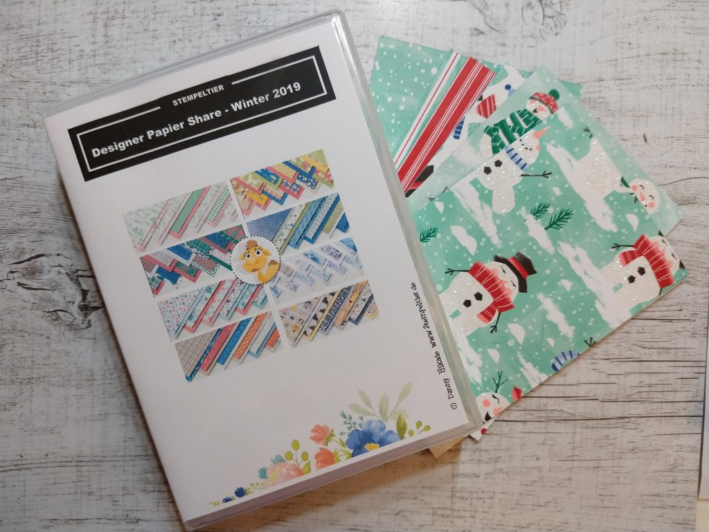 designerpapier share stempeltier herbst winter 2019 stampin up