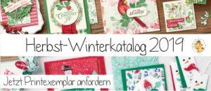 Stampin Up Herbst Winterkatalog 2019 bestellen anfordern kostenlos stempeltier