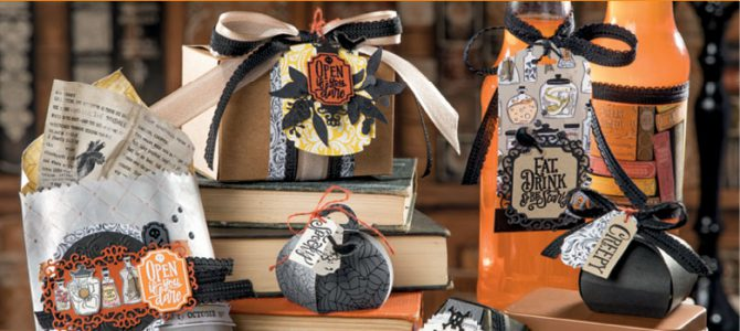 Pretty Cards and Paper BlogHop – Halloween Monsterparty