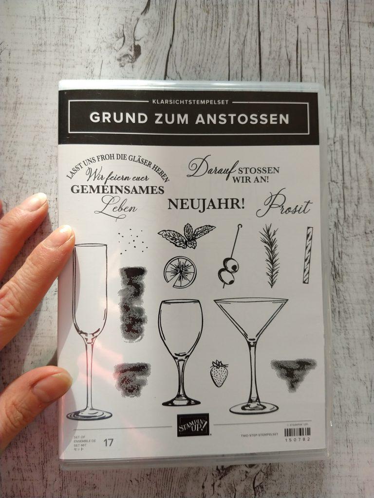 stampin up grund zum anstoßen silvester gläser sip sip hooray