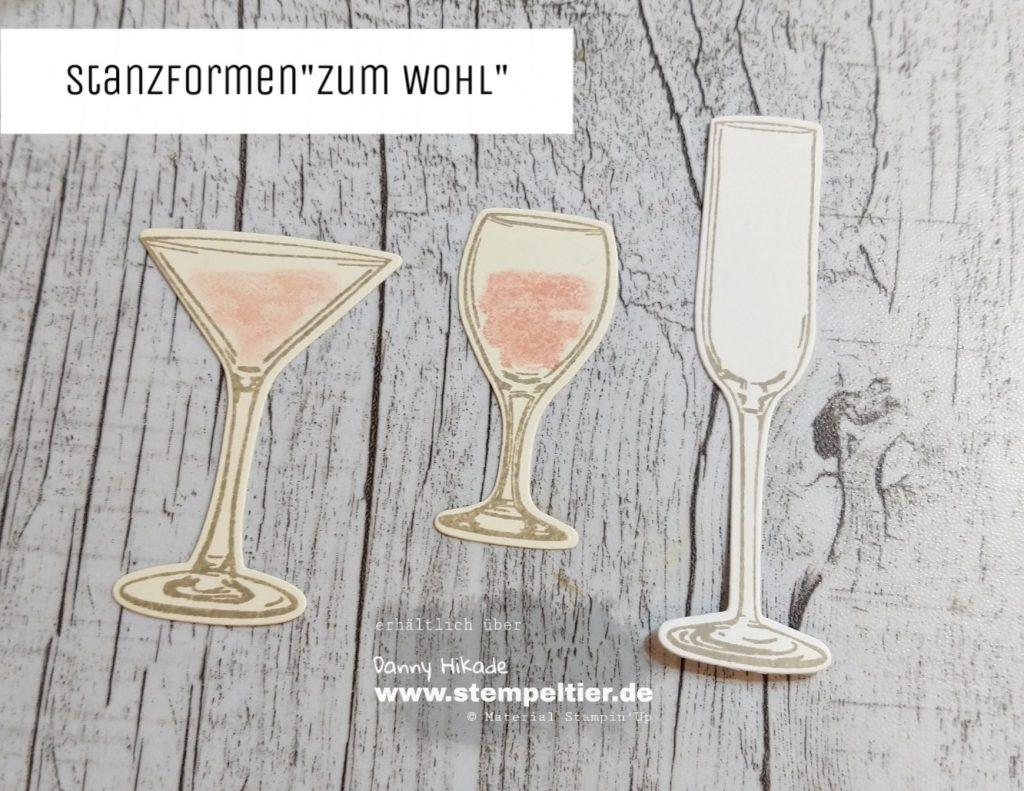 stampin up grund zum ansroßen zum wohl gläster silvester karte stempeltier sip sip hooray