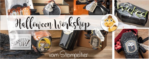halloween workshop stampin up stempeltier 2019