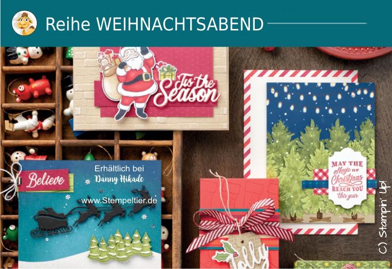 stampin up produktreihe Weihnachtsabend Nikolaus Sack voller Wünsche Herbst Winterkatalog 2019 bestellen stempeltiter