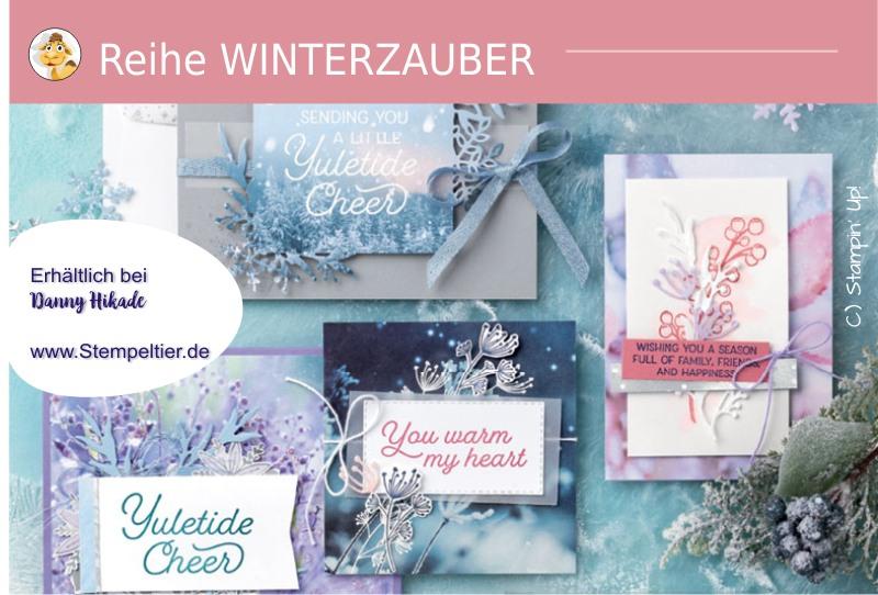 stampin up produktreihe Winterzauber frost Herbst Winterkatalog 2019 bestellen stempeltiter