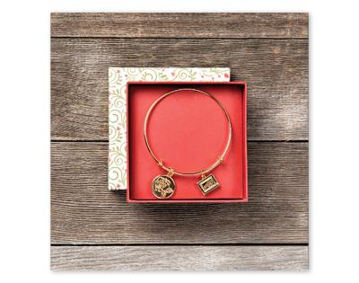 stampin up wunderbare Weihnachtszeit festtagsrose armreif mit Rosenanhänger limitiert stempeltier bracelet