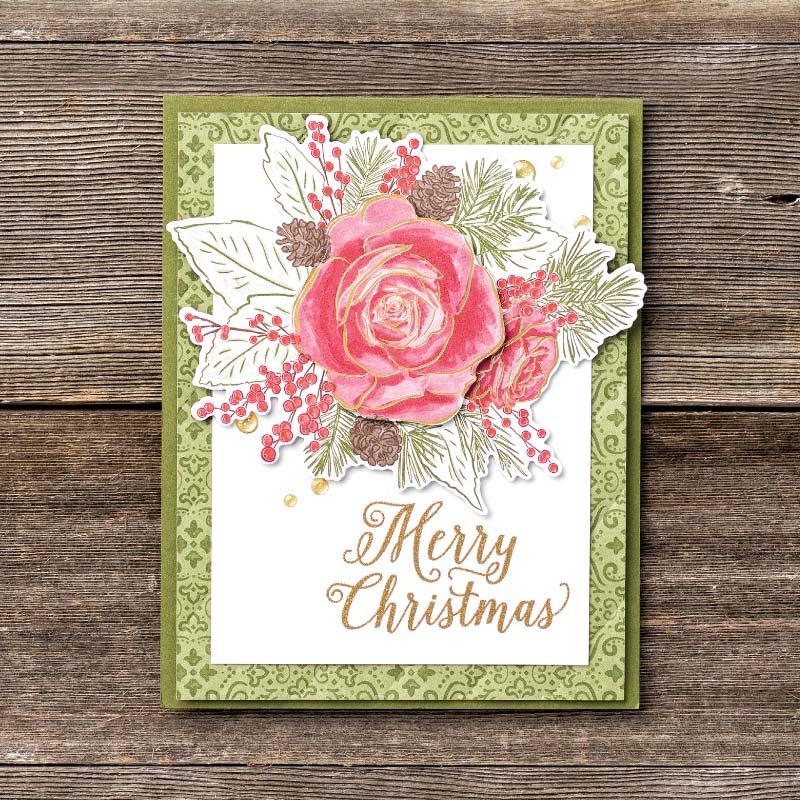 stampin up wunderbare Weihnachtszeit festtagsrose limitiert stempeltier