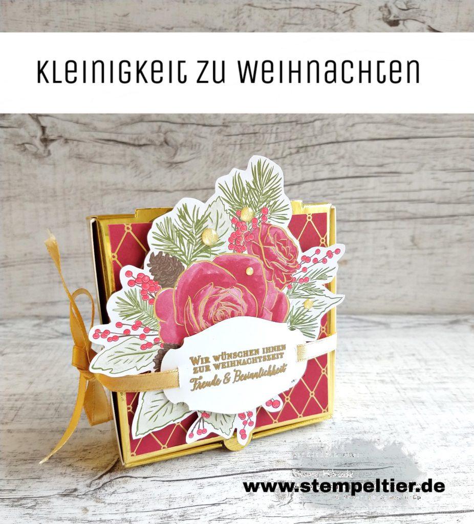stampin up weihnachtskarte festtagsrose wunderbare weihnachtszeit christmas rose