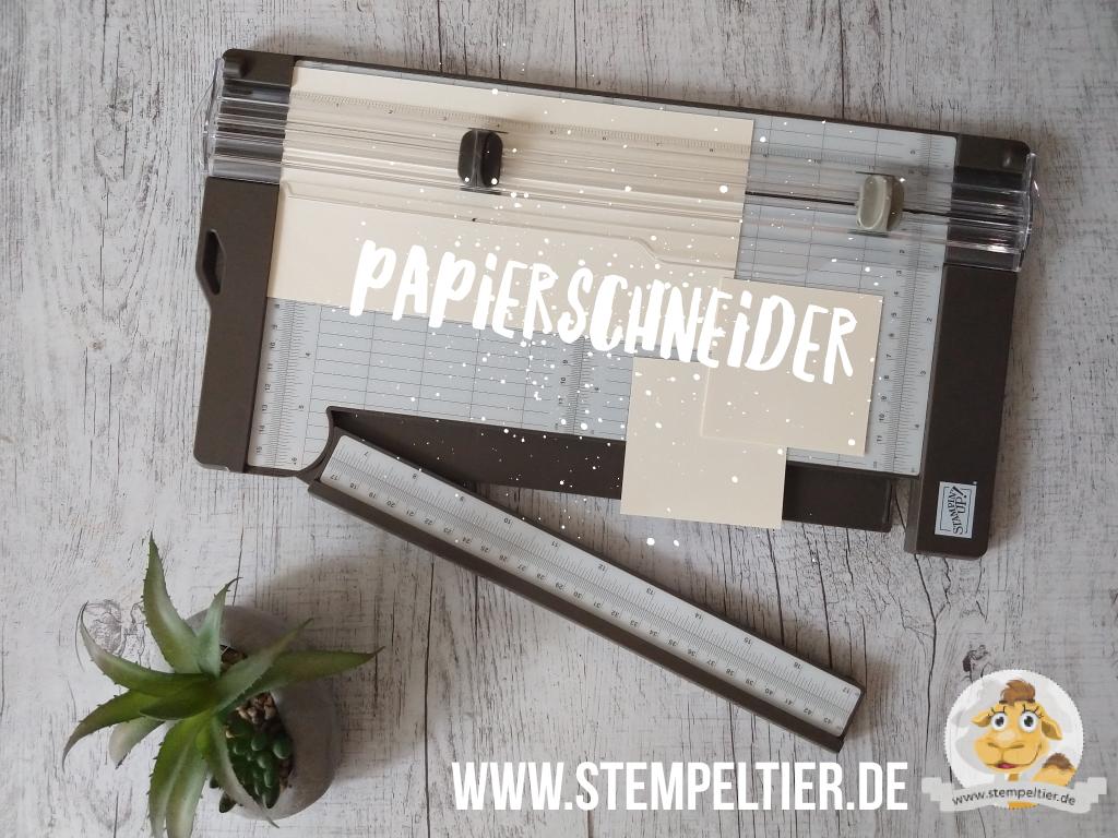 Stampin Up Schneidemaschine Papierschneider kaufen bestellen trimmer papierschneider  stempeltier