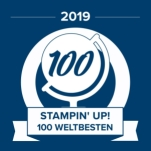 stampin up global 100