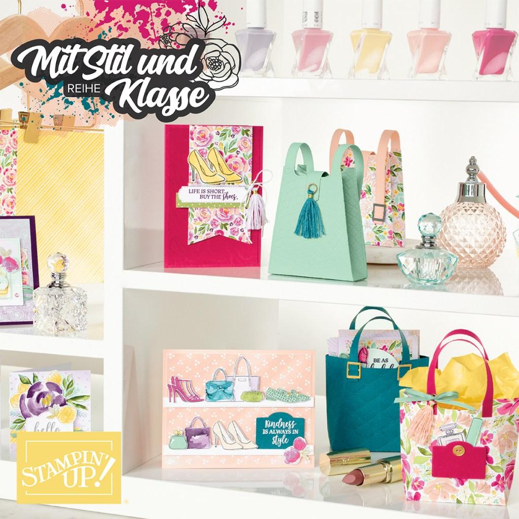 stampin up minikatalog 2020 stempeltier materialpaket mit stil und klasse