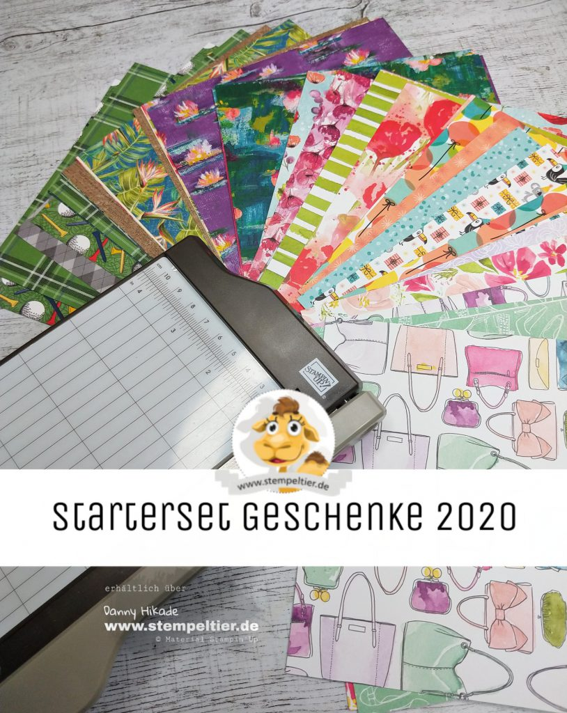 stampin up starterset saleabration 2020 einsteigen demo werden team stempeltier