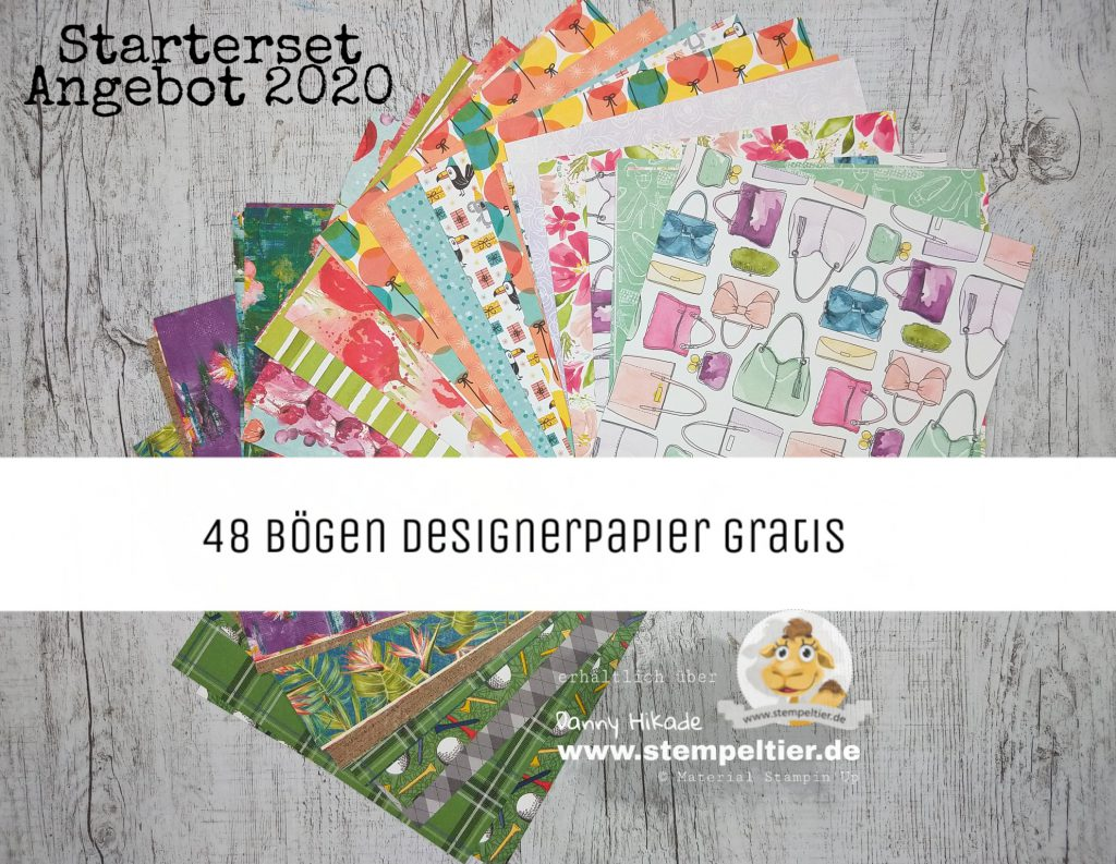 stampin up starterset saleabration 2020 einsteigen demo werden mini papierschneider team stempeltier designerpapier