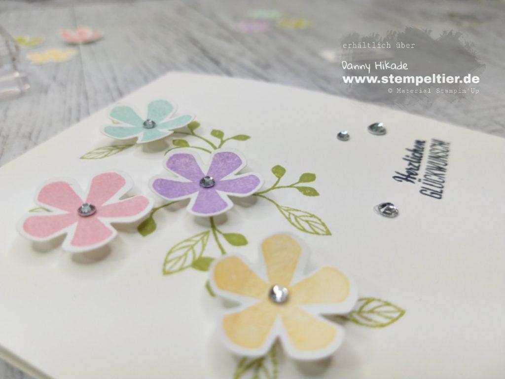 stampin up kleine blüte blumige Überraschung saleabration sab 2020 stempeltier