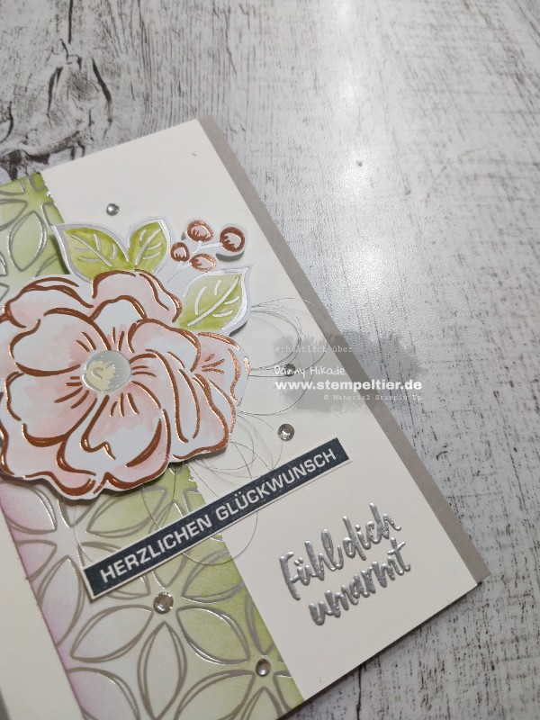 Stampin Up saleabration sab 2020 blütenglanz DSP flowering foils