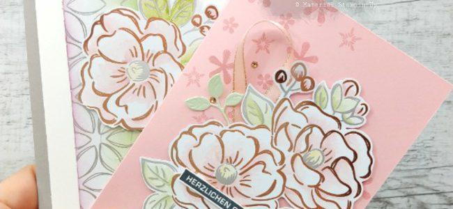 Blütentraum – Geburtstagkarte