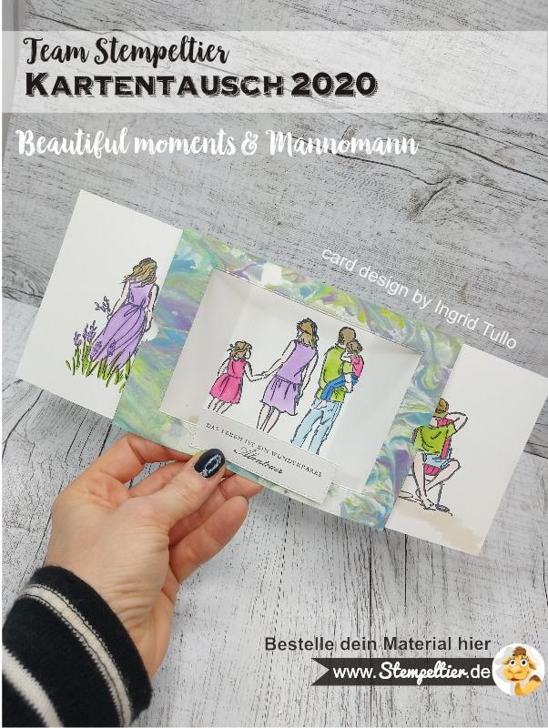 stampin up theaterkarte effektkarte familie