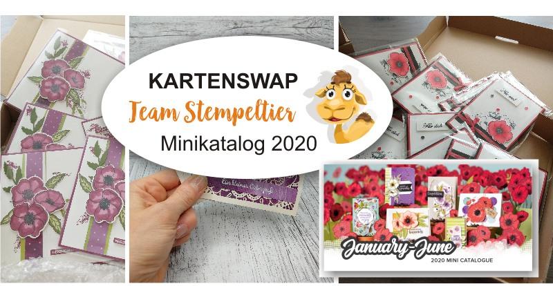 stampin up kartentausch swap minikatalog 2020 team stempeltier