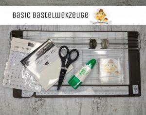 stampin up papierschneider anfänger starterset kleber werkzeug stempeltier
