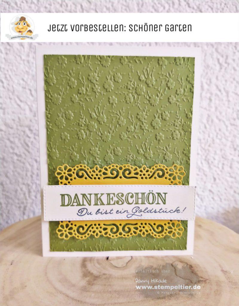 stampin up schöner garten ornate garden Dankeschön Dankeskarte