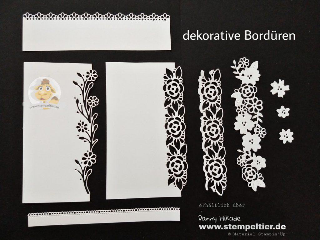 stampin up schoener garten dekorative Bordüren bordersornate garden