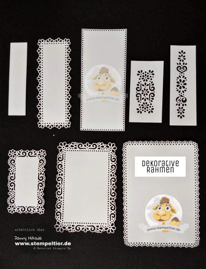 stampin up schoener garten dekorative Rahmen produktreihe bestellen