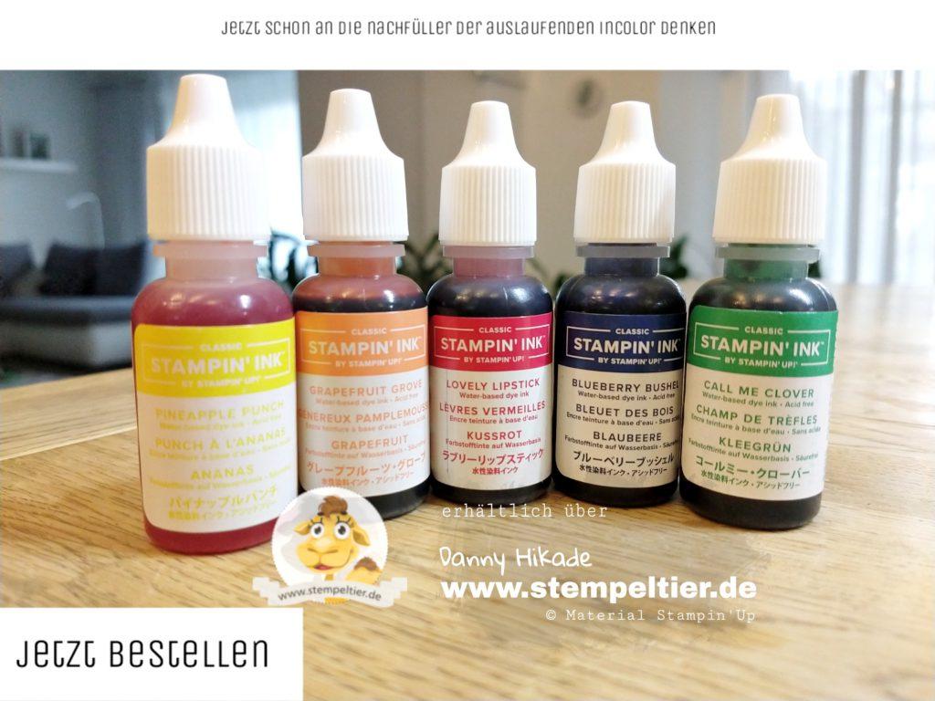 stampin up incolor nachfüller stempeltier 2020 bestellen