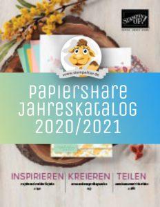 stampin up jahreskatalog 2020 2021 papiershare papershare stempeltier dsp plus Pakete