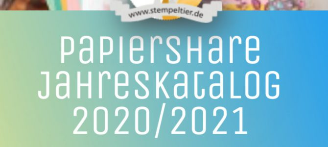 Papershare Stampin Up Jahreskatalog 2020-2021