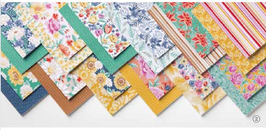 stampin up designerpapier share 2020 stempetlier blumen für jede jahreszeit