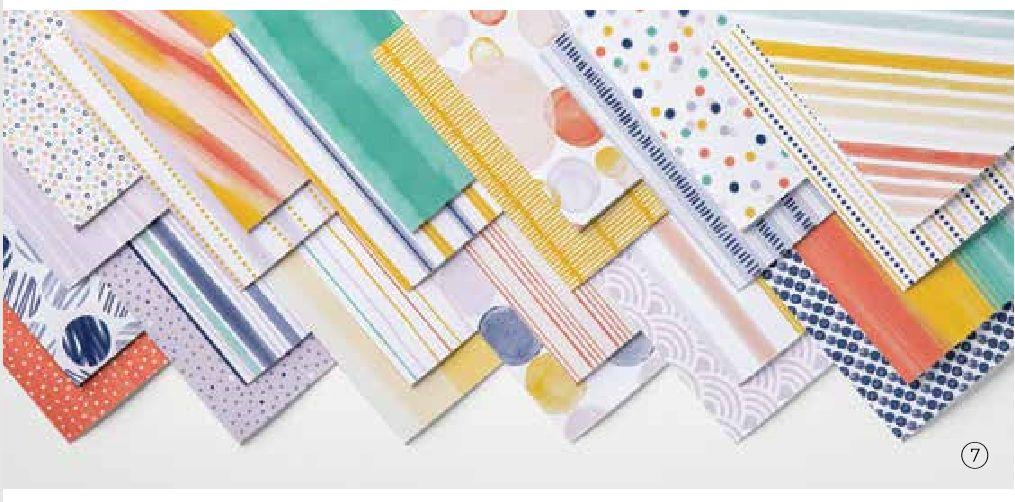 stampin up designerpapier share 2020 stempetlier jede menge muster